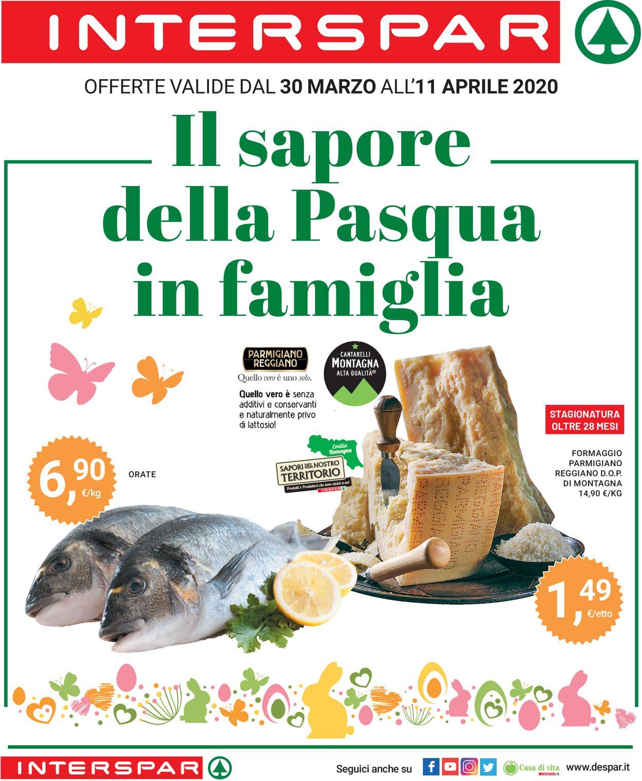 Volantino Eurospar - Offerte 30/03-11/04/2020