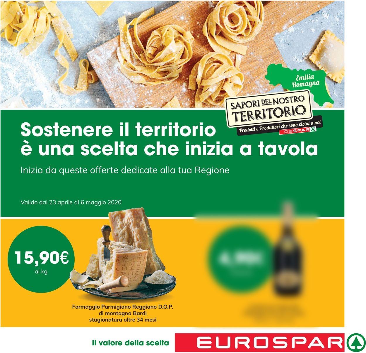 Volantino Eurospar - Offerte 23/04-06/05/2020
