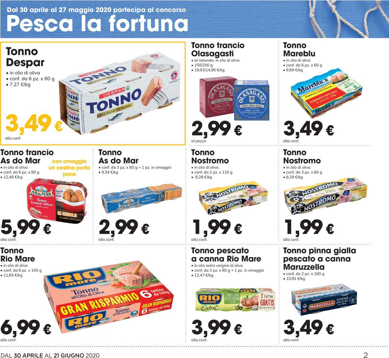 Volantino Eurospar - Offerte 30/04-13/05/2020 (Pagina 2)
