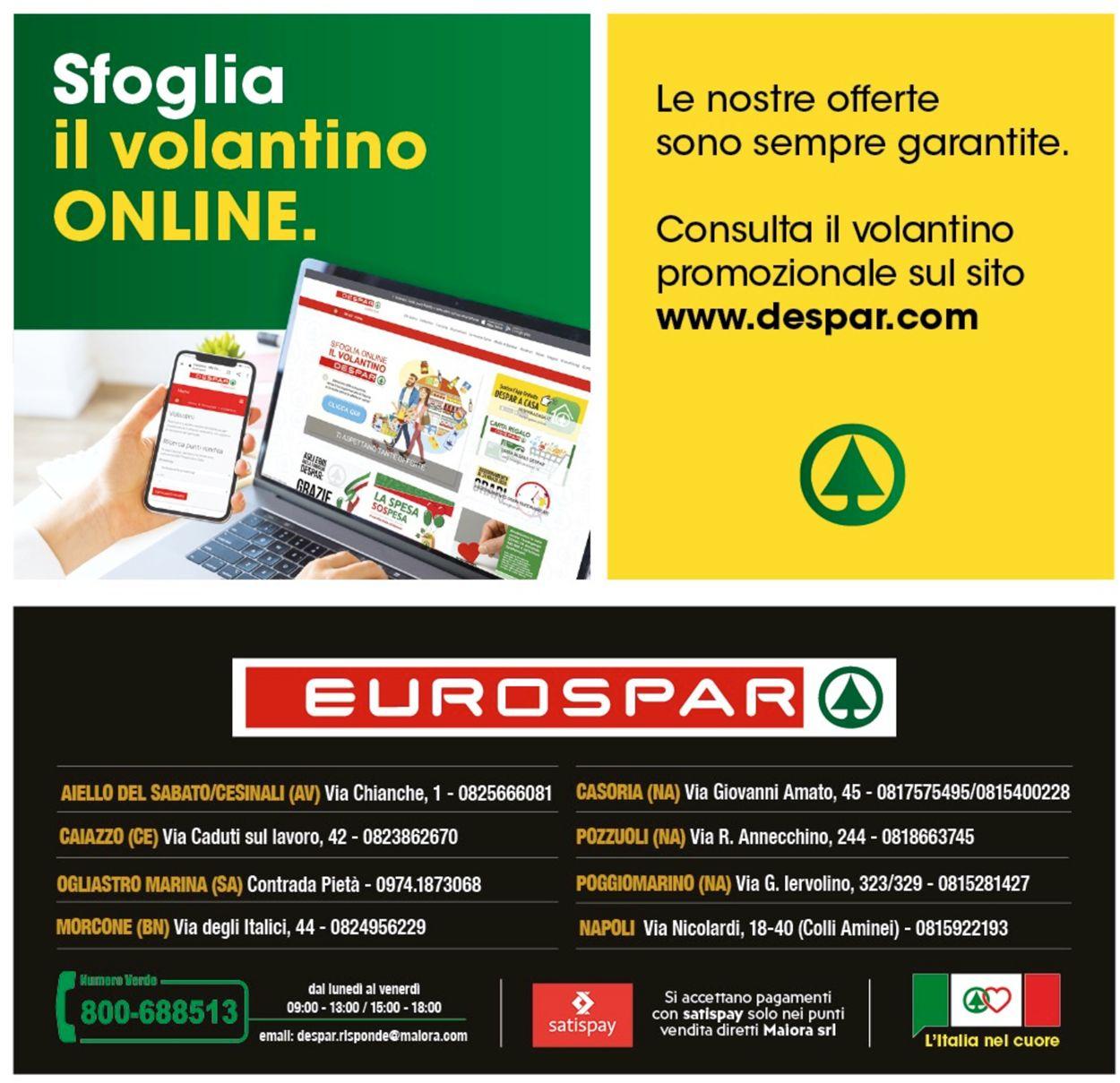 Volantino Eurospar - Offerte 03/06-14/06/2020 (Pagina 28)