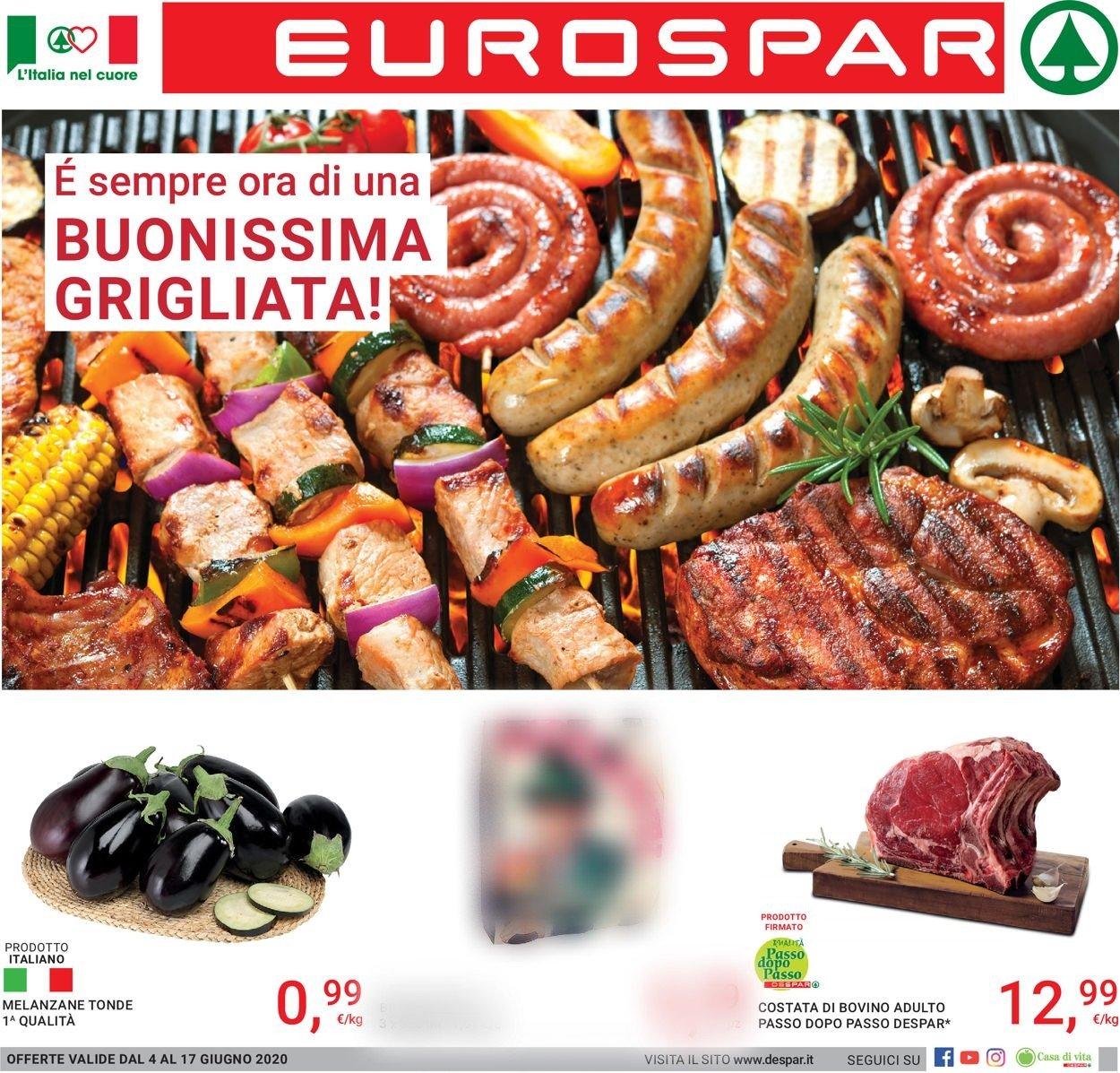 Volantino Eurospar - Offerte 04/06-17/06/2020