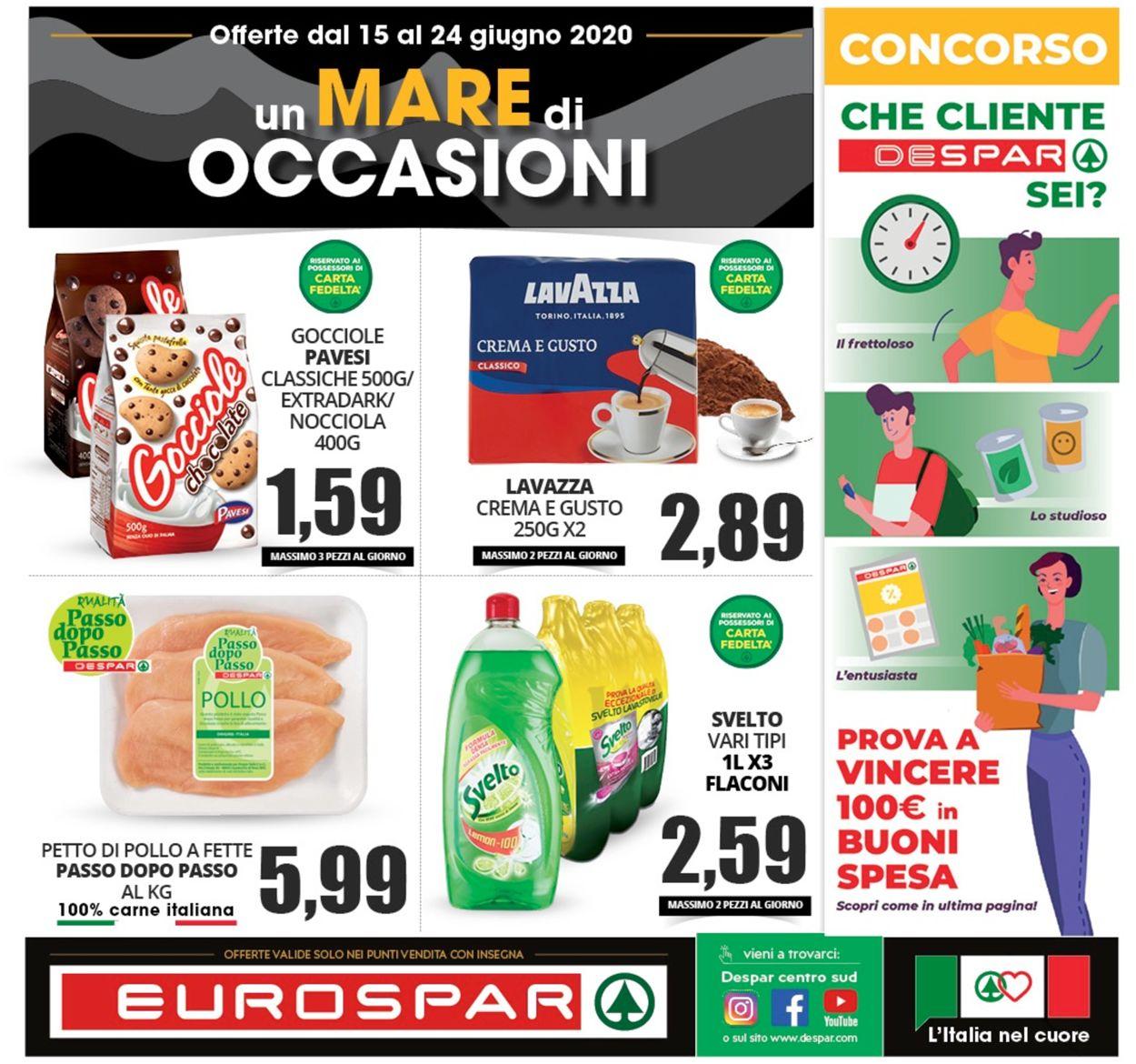 Volantino Eurospar - Offerte 14/06-24/06/2020