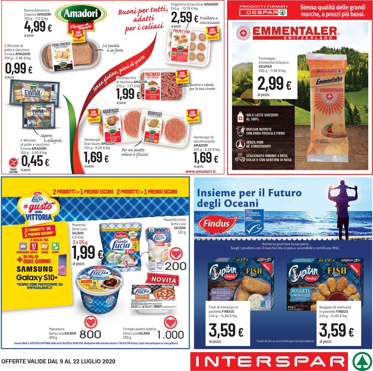 Volantino Eurospar - Offerte 09/07-22/07/2020 (Pagina 2)