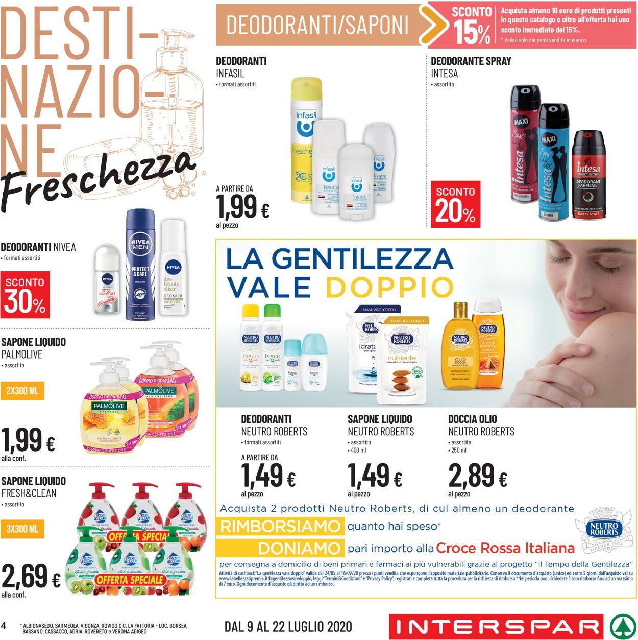 Volantino Eurospar - Offerte 09/07-22/07/2020 (Pagina 4)