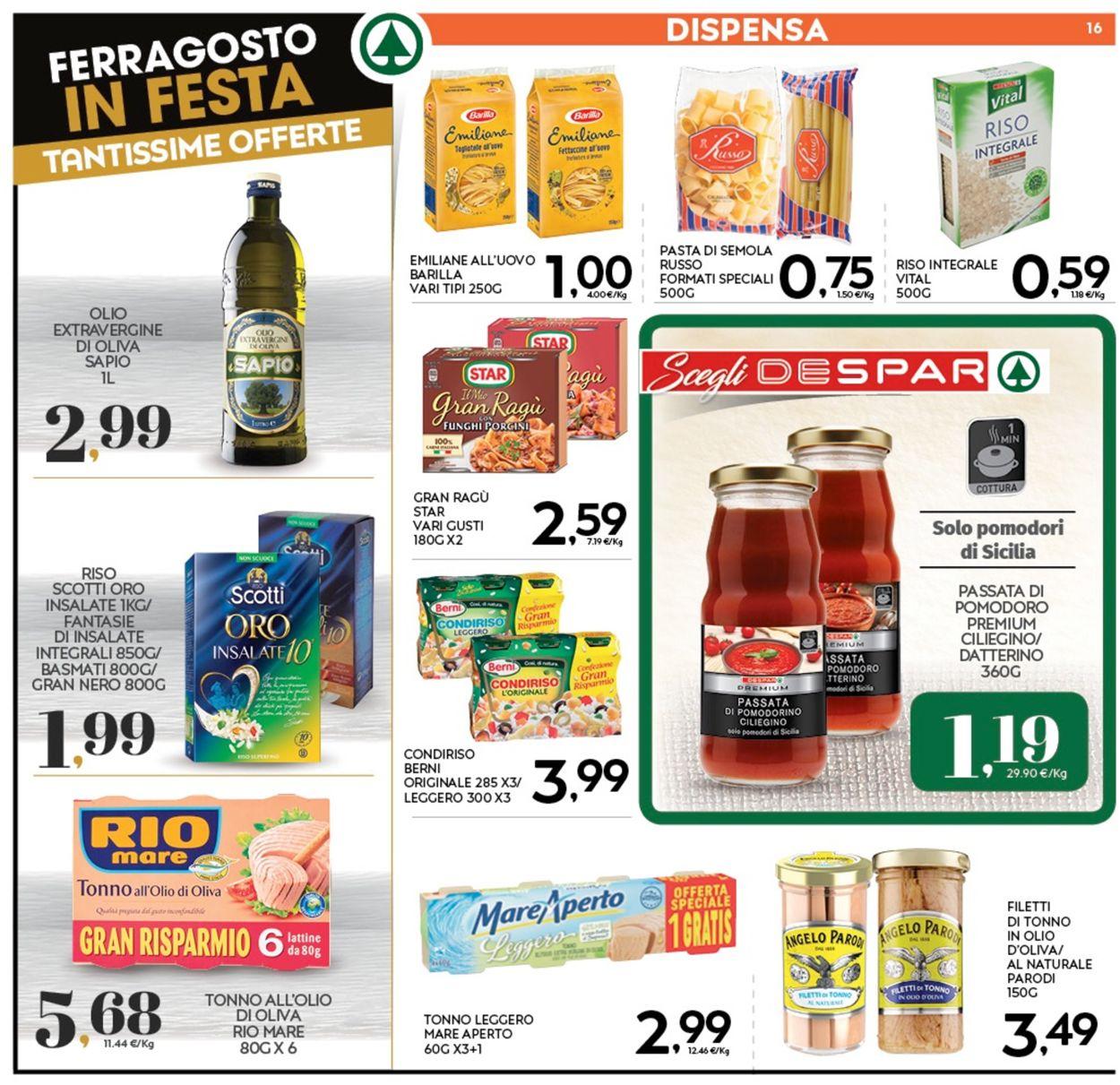 Volantino Eurospar - Offerte 05/08-16/08/2020 (Pagina 16)