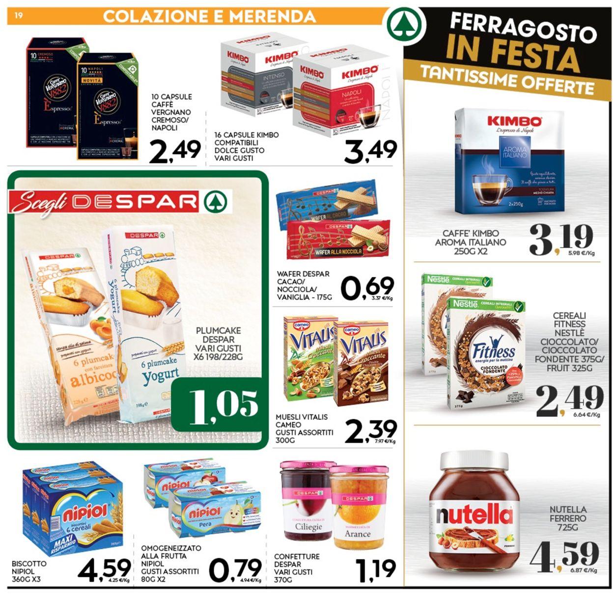 Volantino Eurospar - Offerte 05/08-16/08/2020 (Pagina 19)