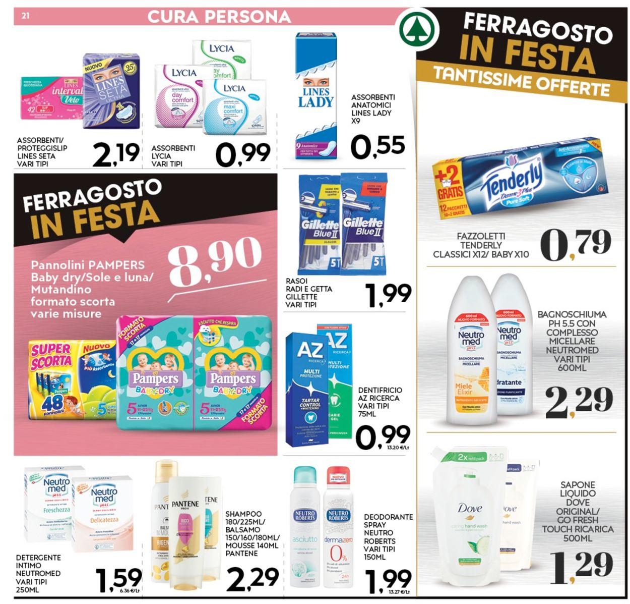Volantino Eurospar - Offerte 05/08-16/08/2020 (Pagina 21)
