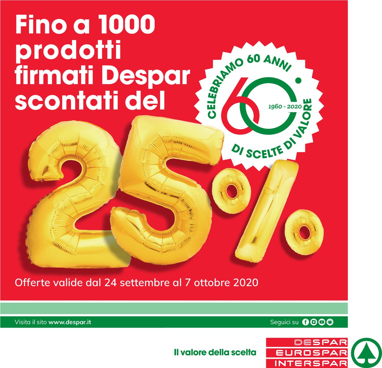 Volantino Eurospar - Offerte 24/09-07/10/2020