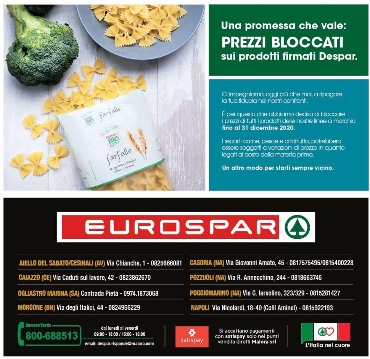 Volantino Eurospar - Offerte 28/09-04/10/2020 (Pagina 28)
