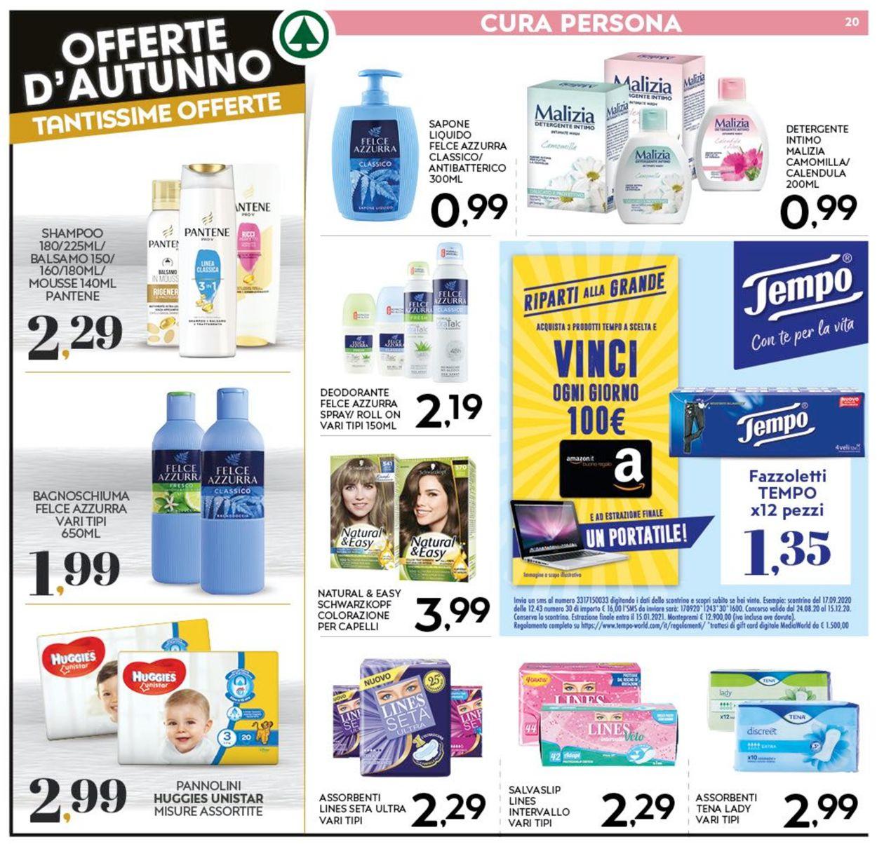 Volantino Eurospar - Offerte 08/10-18/10/2020 (Pagina 20)