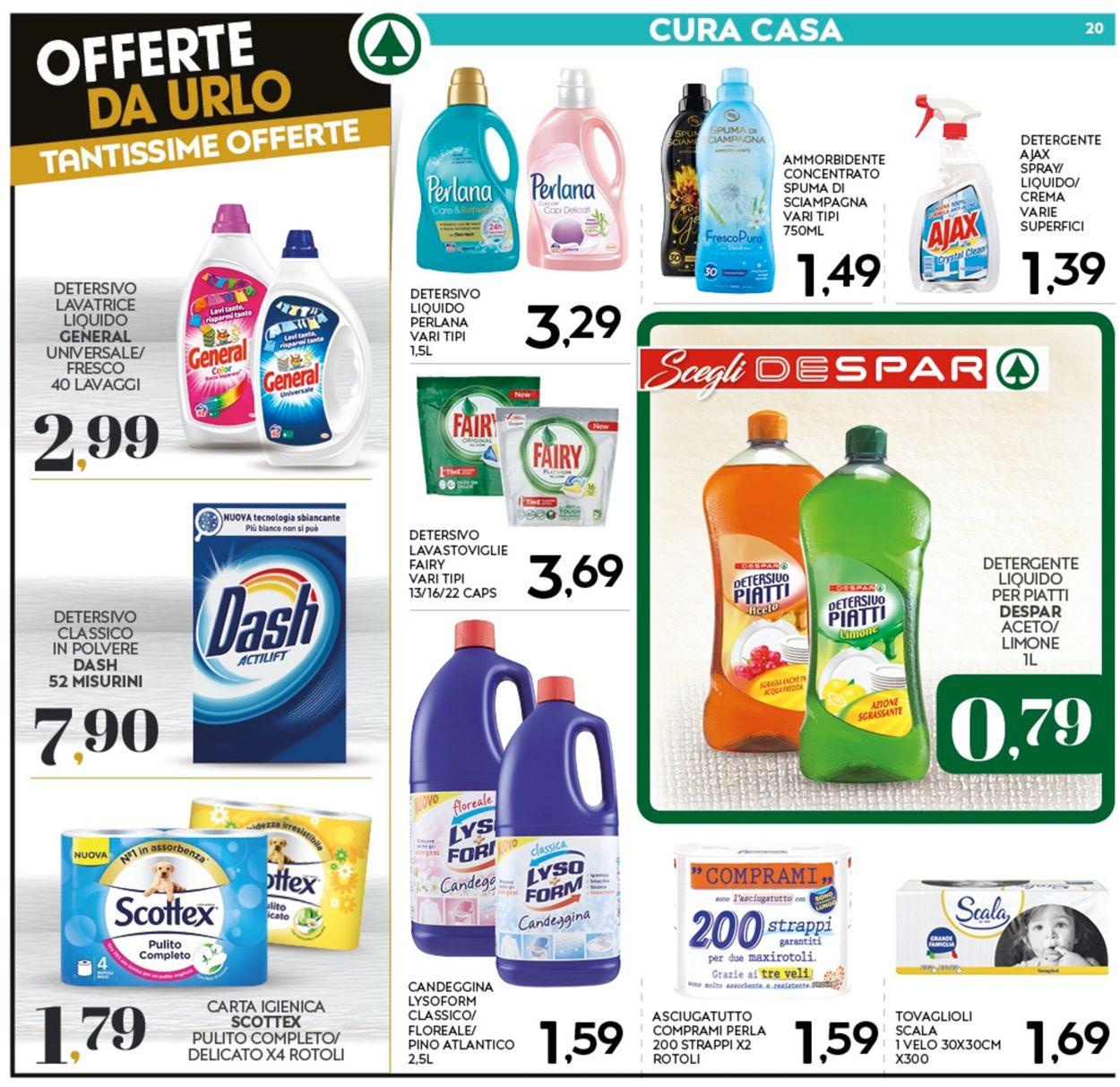 Volantino Eurospar - Offerte 28/10-08/11/2020 (Pagina 20)