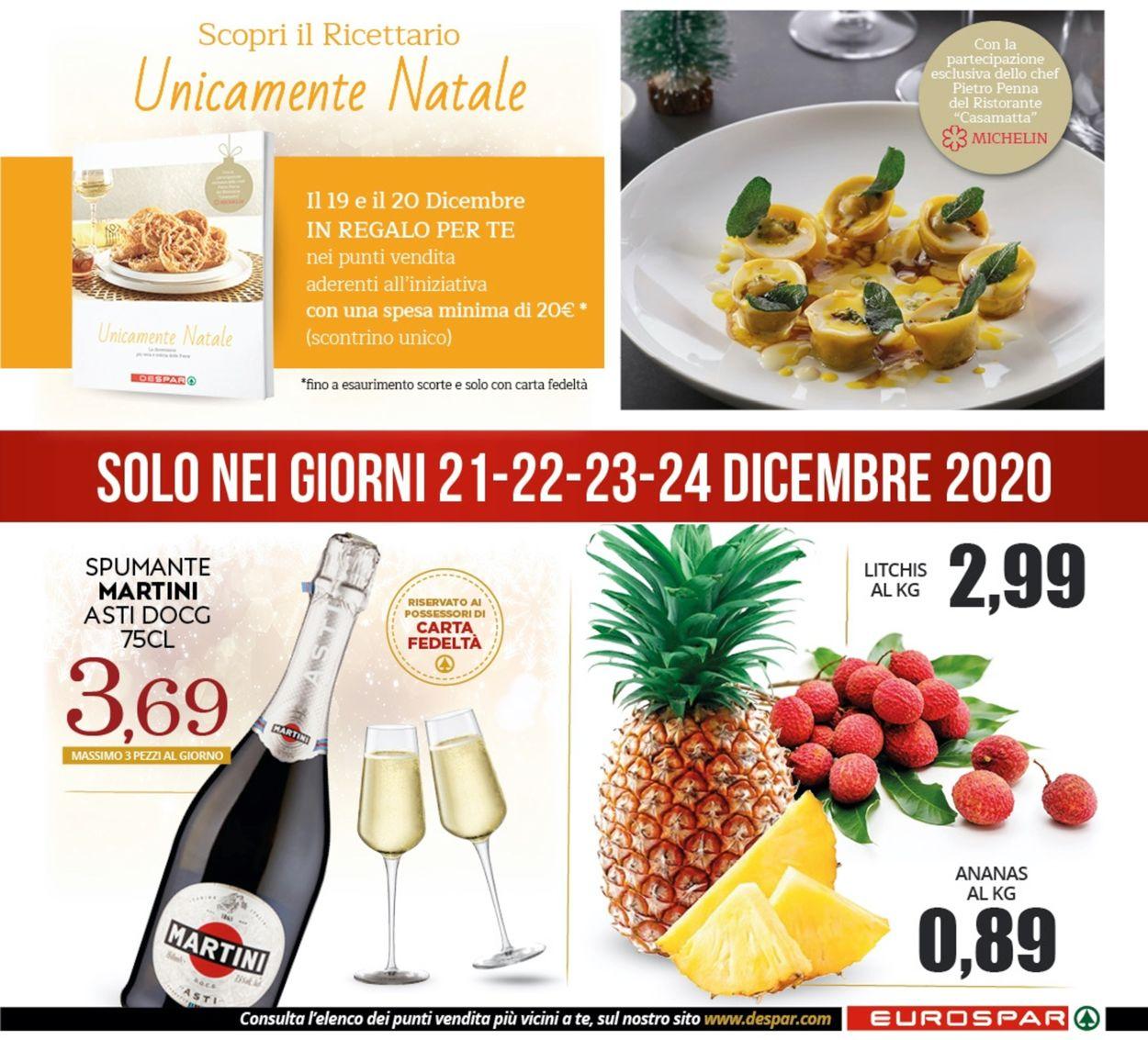 Volantino Eurospar - Natale 2020 - Offerte 16/12-27/12/2020 (Pagina 32)