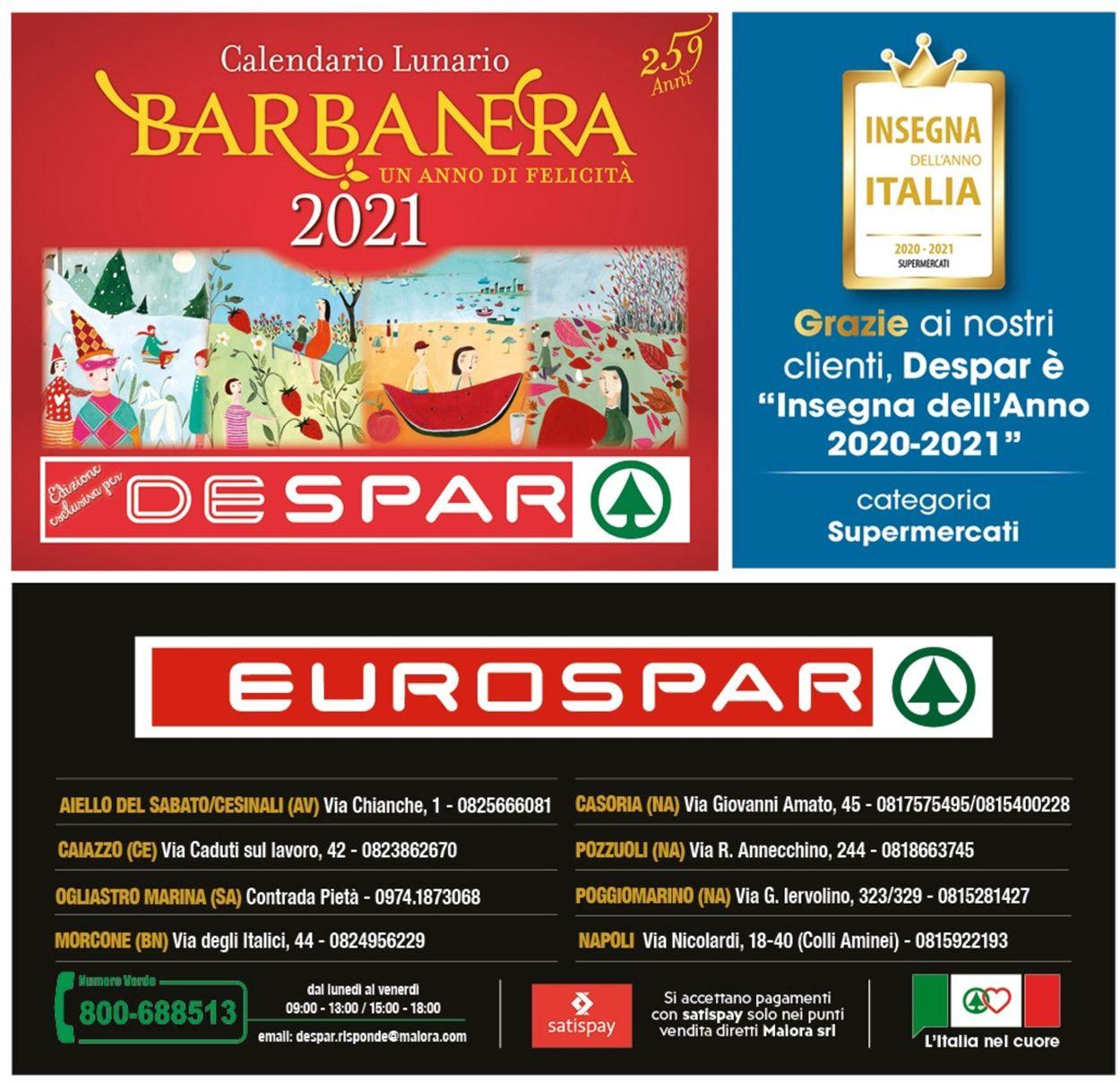 Volantino Eurospar -  Capodanno 2021 - Offerte 28/12-06/01/2021 (Pagina 20)