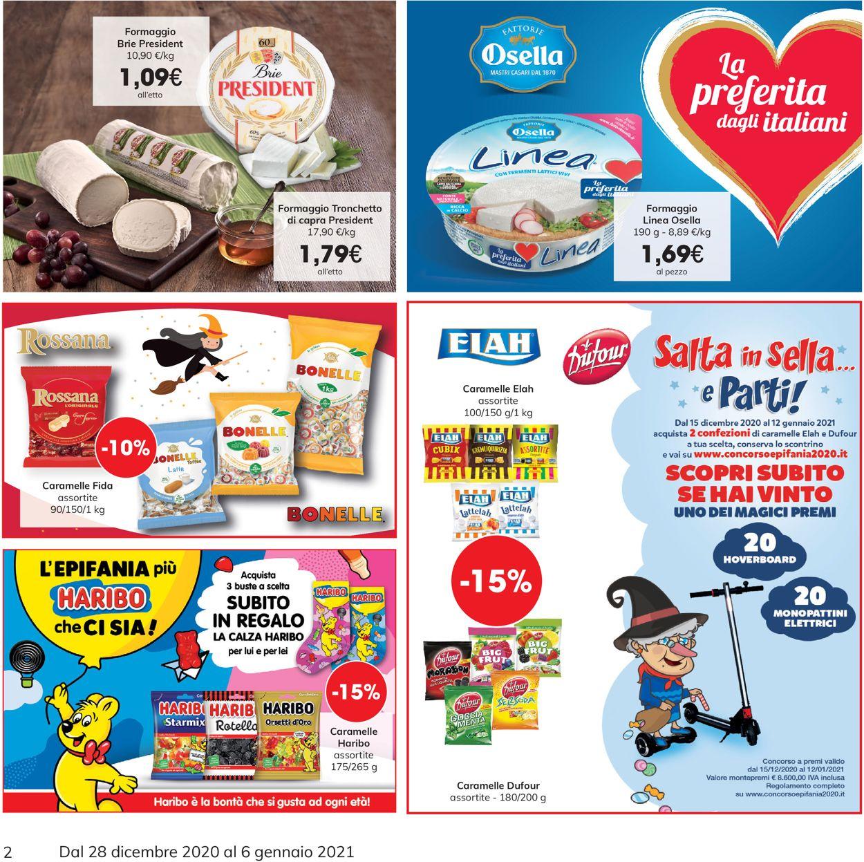 Volantino Eurospar -  Capodanno 2021 - Offerte 28/12-06/01/2021 (Pagina 2)