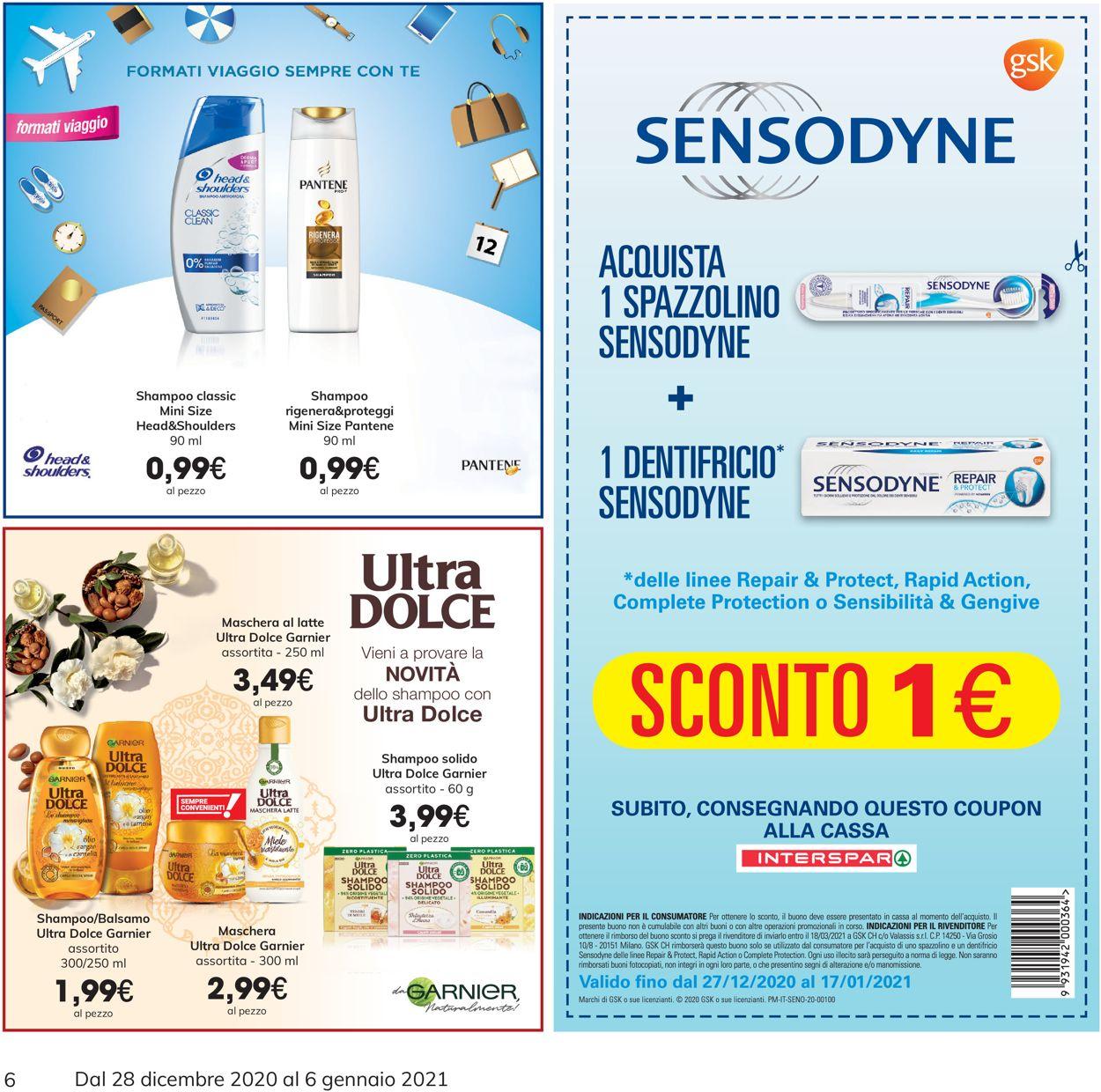Volantino Eurospar -  Capodanno 2021 - Offerte 28/12-06/01/2021 (Pagina 6)