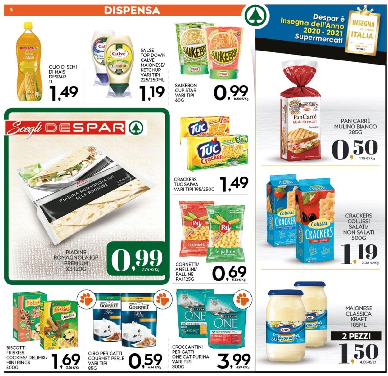 Volantino Eurospar - Offerte 07/01-17/01/2021 (Pagina 5)