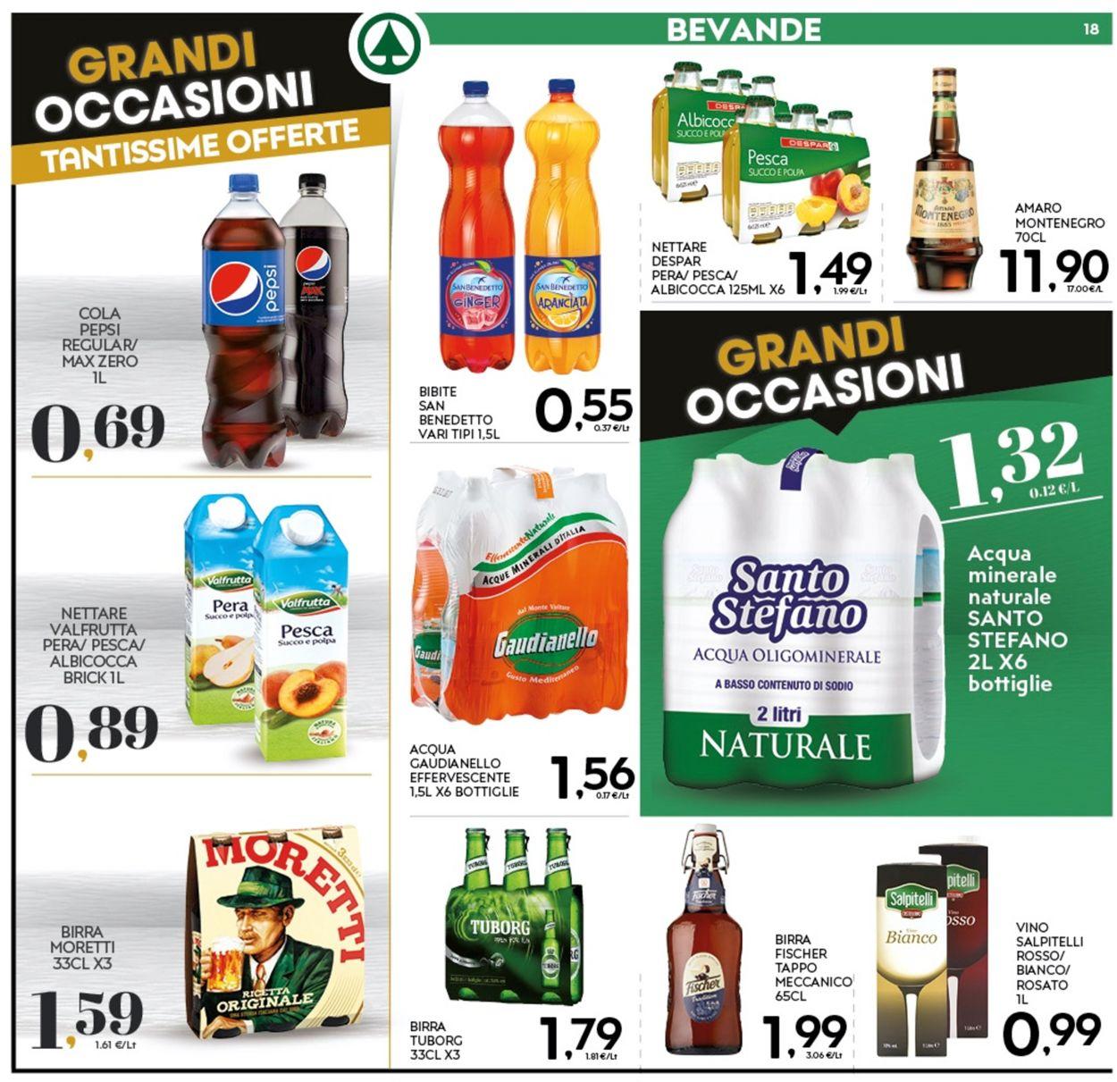Volantino Eurospar - Offerte 07/01-17/01/2021 (Pagina 18)