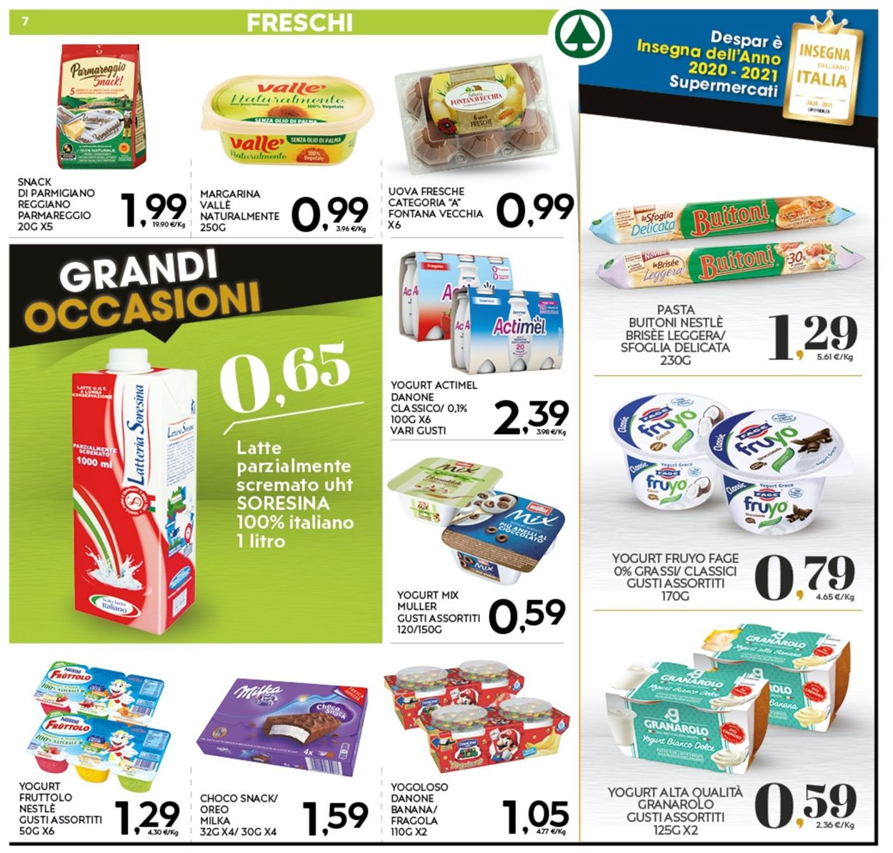 Volantino Eurospar - Offerte 18/01-27/01/2021 (Pagina 7)