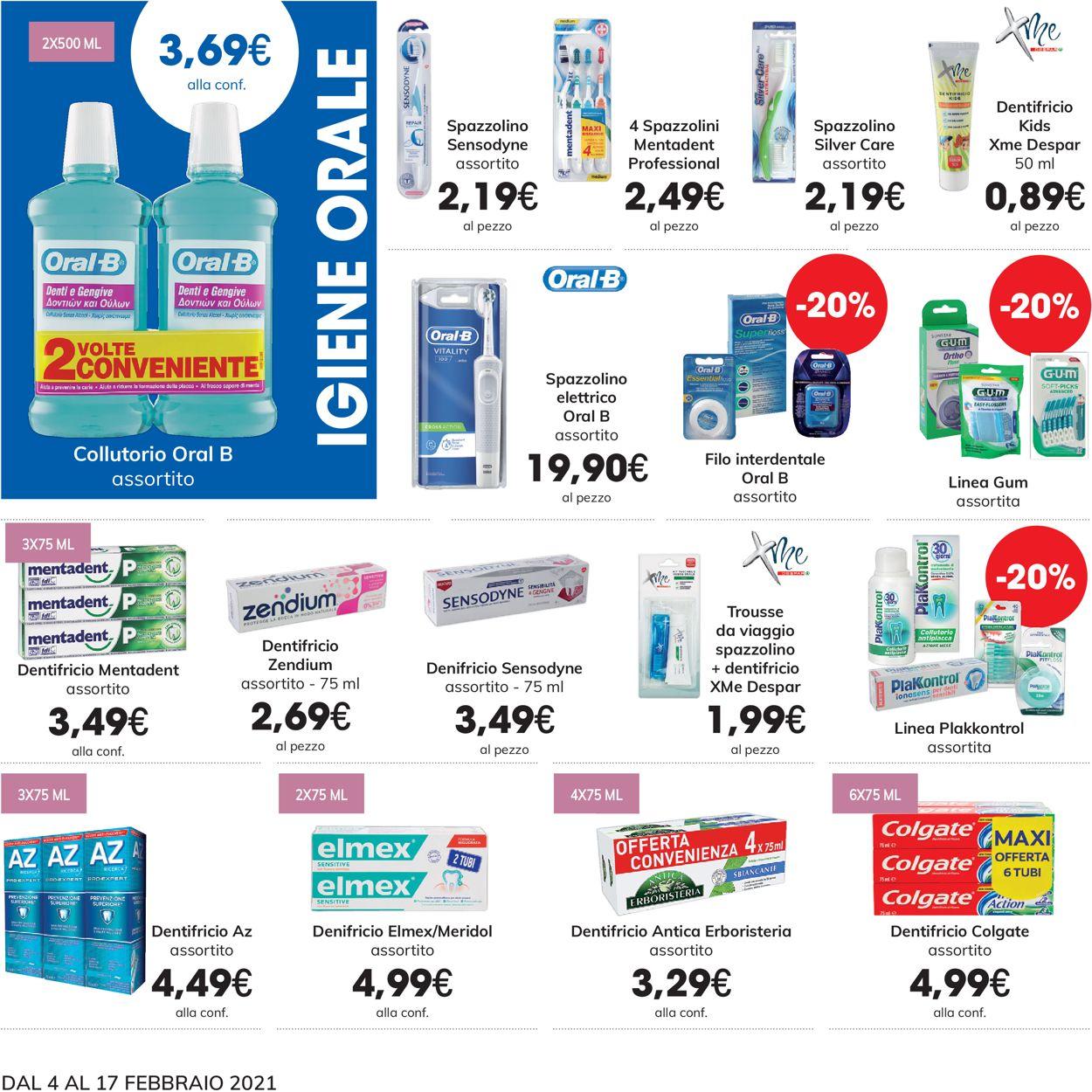 Volantino Eurospar - Offerte 04/02-17/02/2021 (Pagina 14)