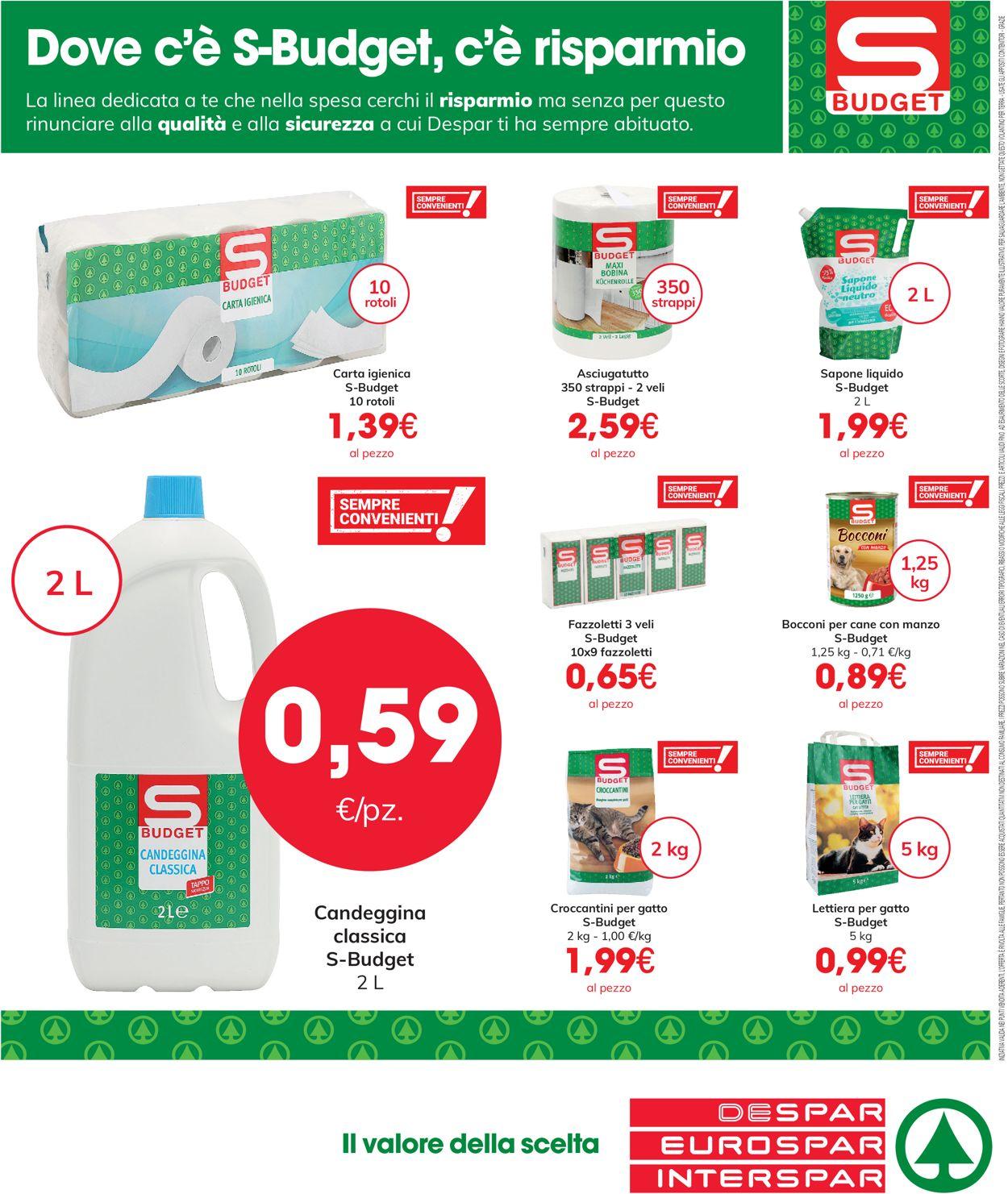 Volantino Eurospar - Offerte 05/04-31/05/2021 (Pagina 8)