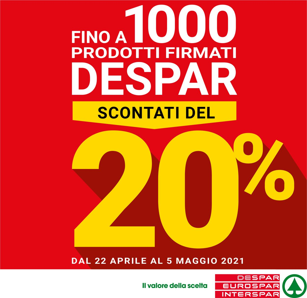 Volantino Eurospar - Offerte 22/04-05/05/2021