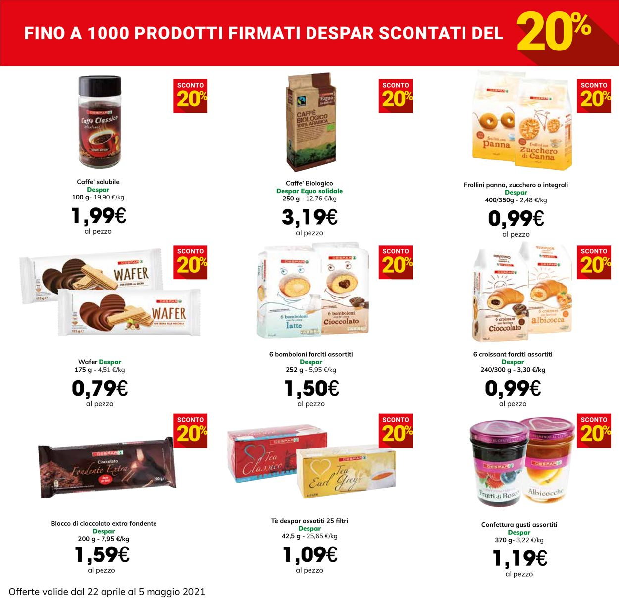 Volantino Eurospar - Offerte 22/04-05/05/2021 (Pagina 10)
