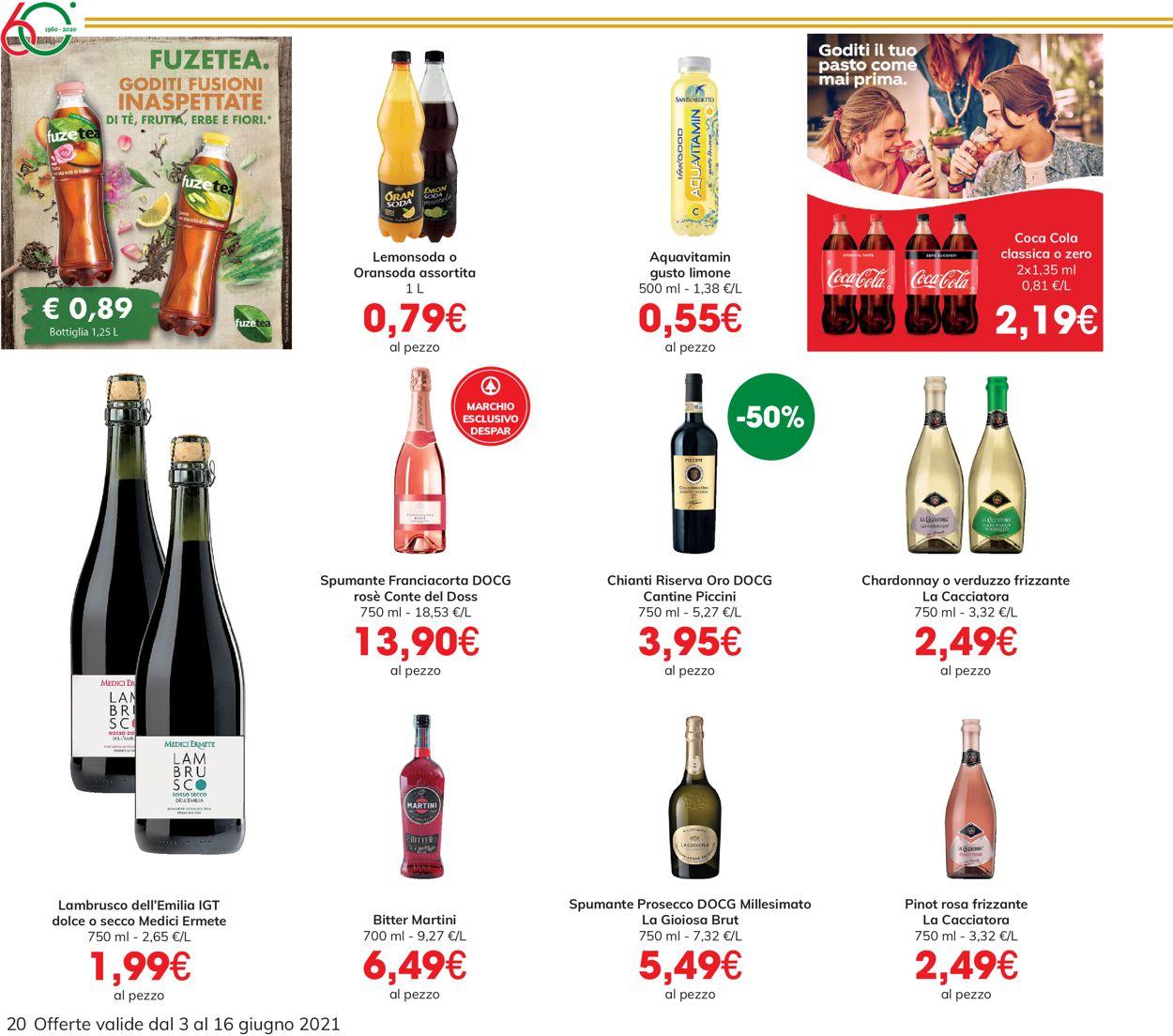 Volantino Eurospar - Offerte 03/06-16/06/2021 (Pagina 20)