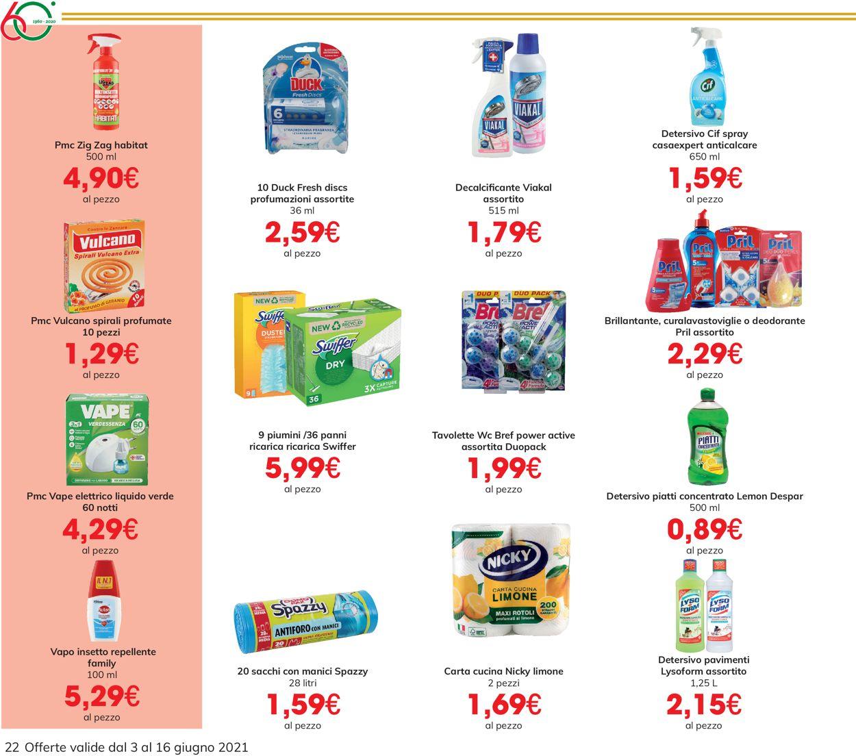 Volantino Eurospar - Offerte 03/06-16/06/2021 (Pagina 22)