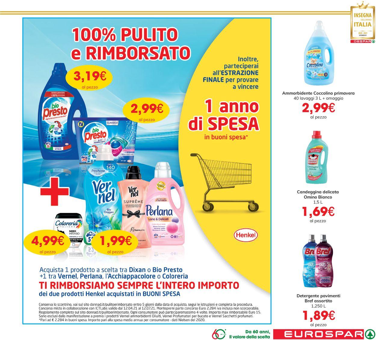 Volantino Eurospar - Offerte 03/06-16/06/2021 (Pagina 23)