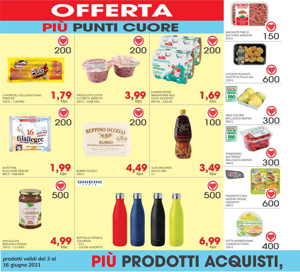 Volantino Eurospar - Offerte 03/06-16/06/2021 (Pagina 30)