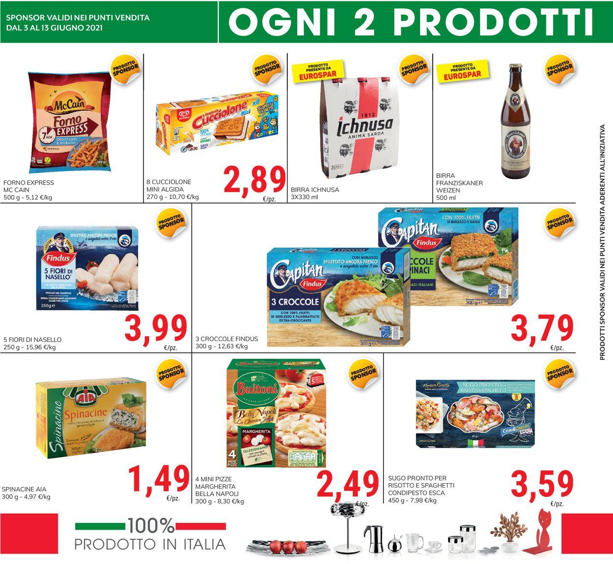 Volantino Eurospar - Offerte 03/06-13/06/2021 (Pagina 6)