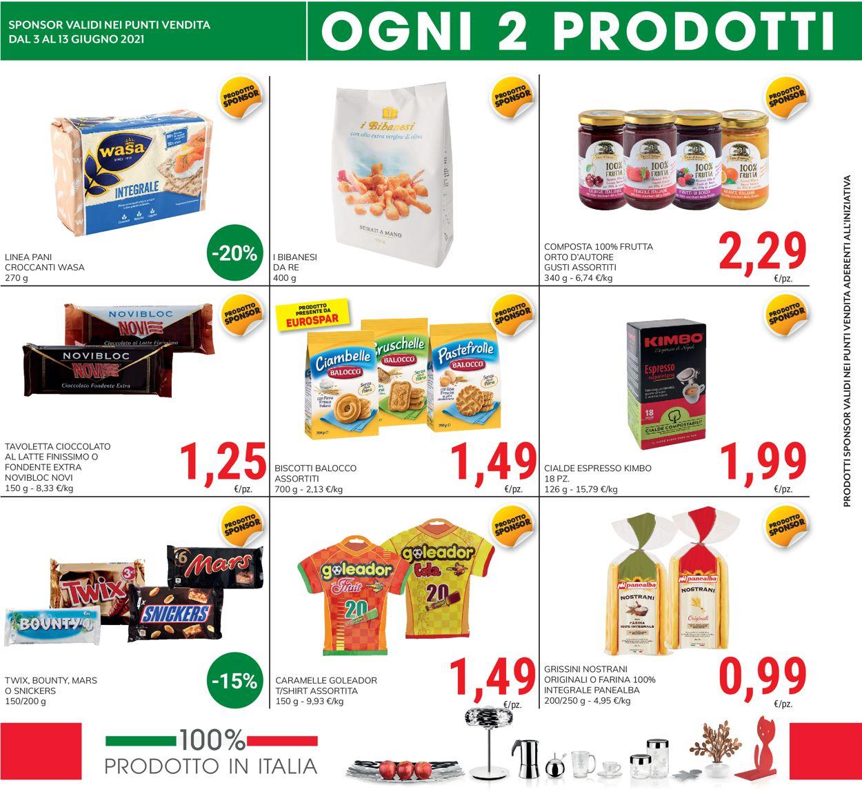 Volantino Eurospar - Offerte 03/06-13/06/2021 (Pagina 8)