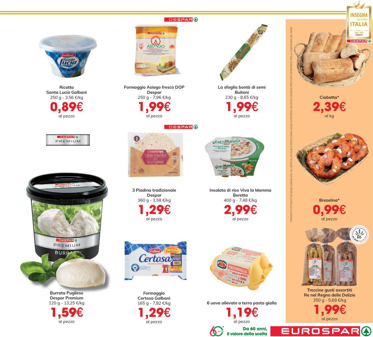 Volantino Eurospar - Offerte 17/06-30/06/2021 (Pagina 19)