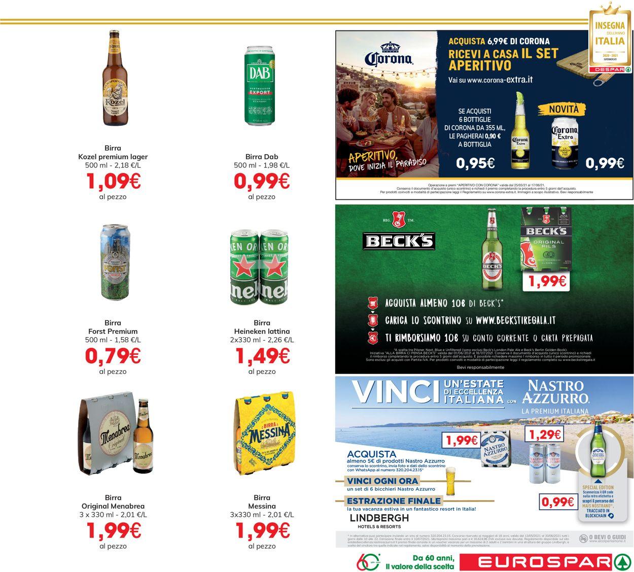 Volantino Eurospar - Offerte 17/06-30/06/2021 (Pagina 21)