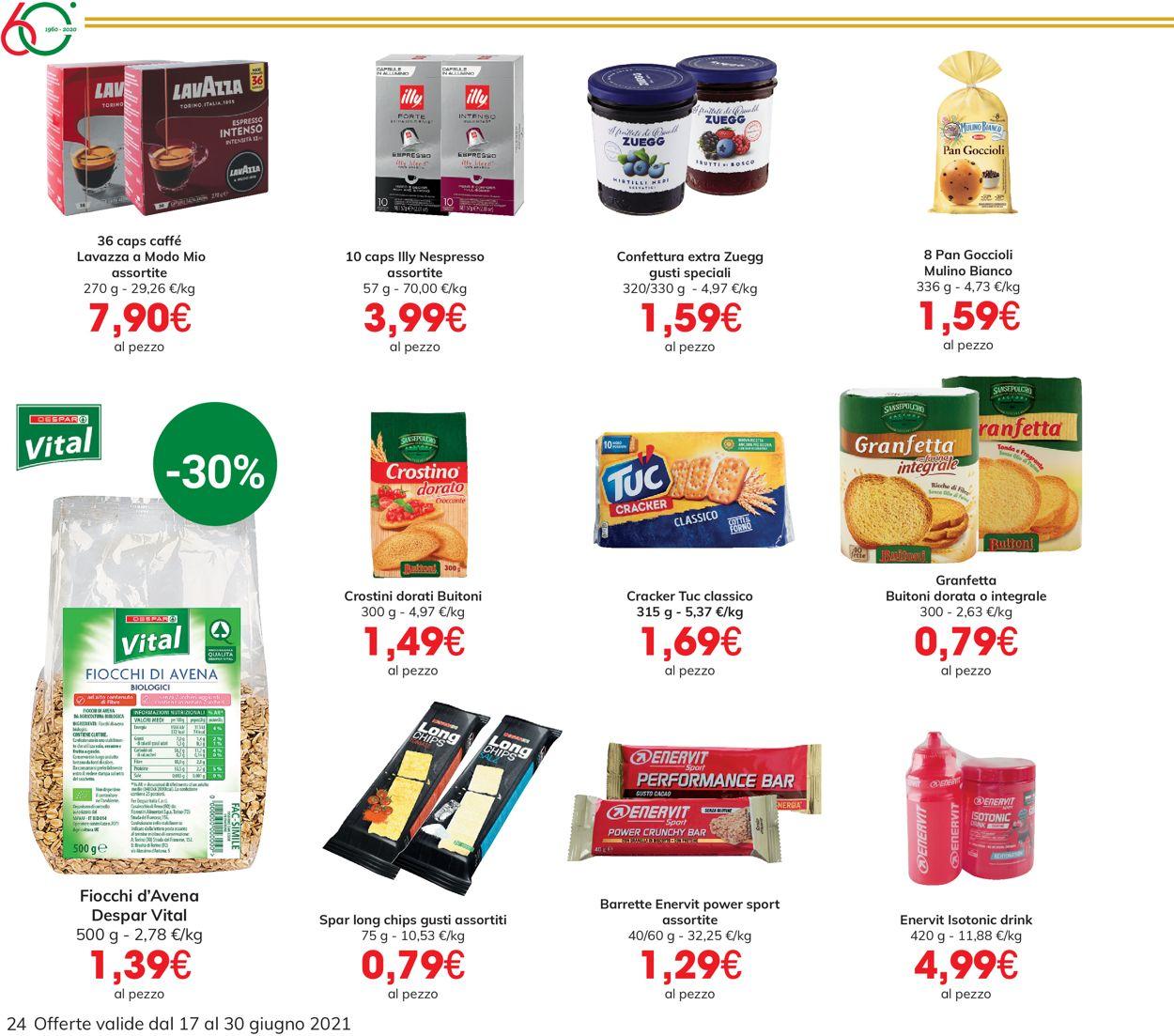 Volantino Eurospar - Offerte 17/06-30/06/2021 (Pagina 24)
