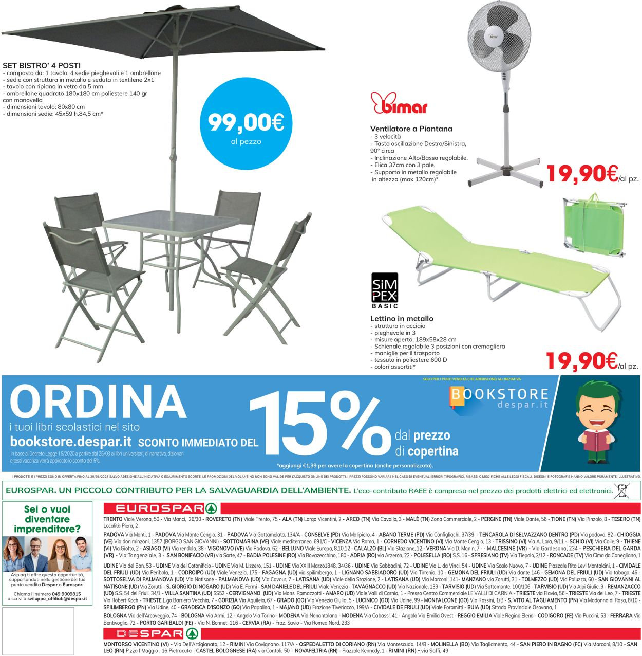 Volantino Eurospar - Offerte 17/06-30/06/2021 (Pagina 32)
