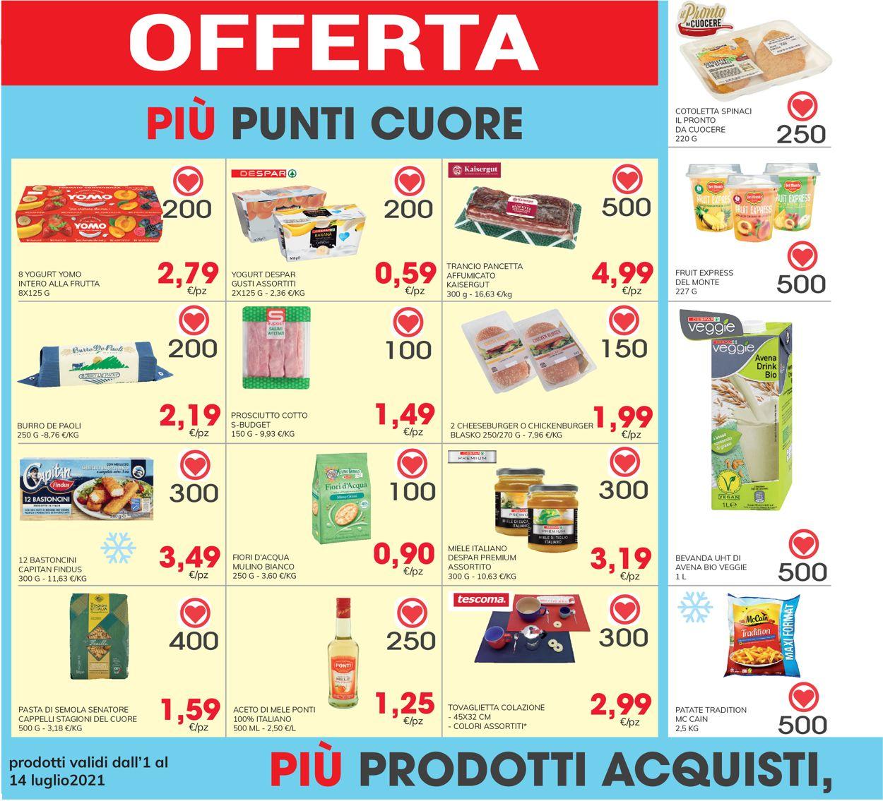 Volantino Eurospar - Offerte 01/07-14/07/2021 (Pagina 30)