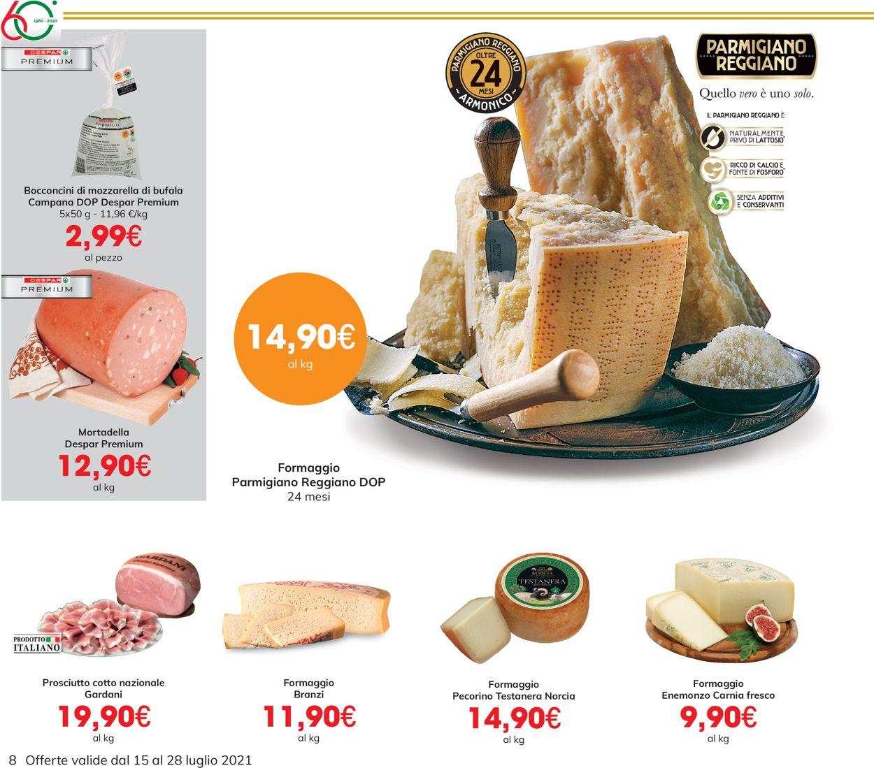 Volantino Eurospar - Offerte 15/07-28/07/2021 (Pagina 8)