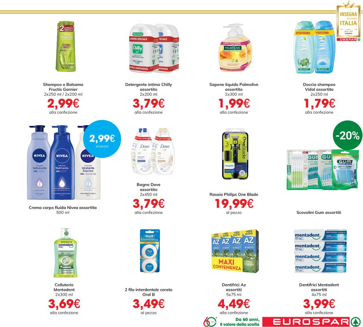 Volantino Eurospar - Offerte 15/07-28/07/2021 (Pagina 21)