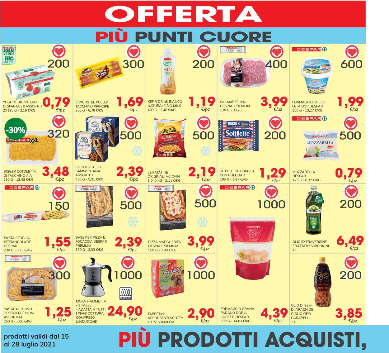 Volantino Eurospar - Offerte 15/07-28/07/2021 (Pagina 22)