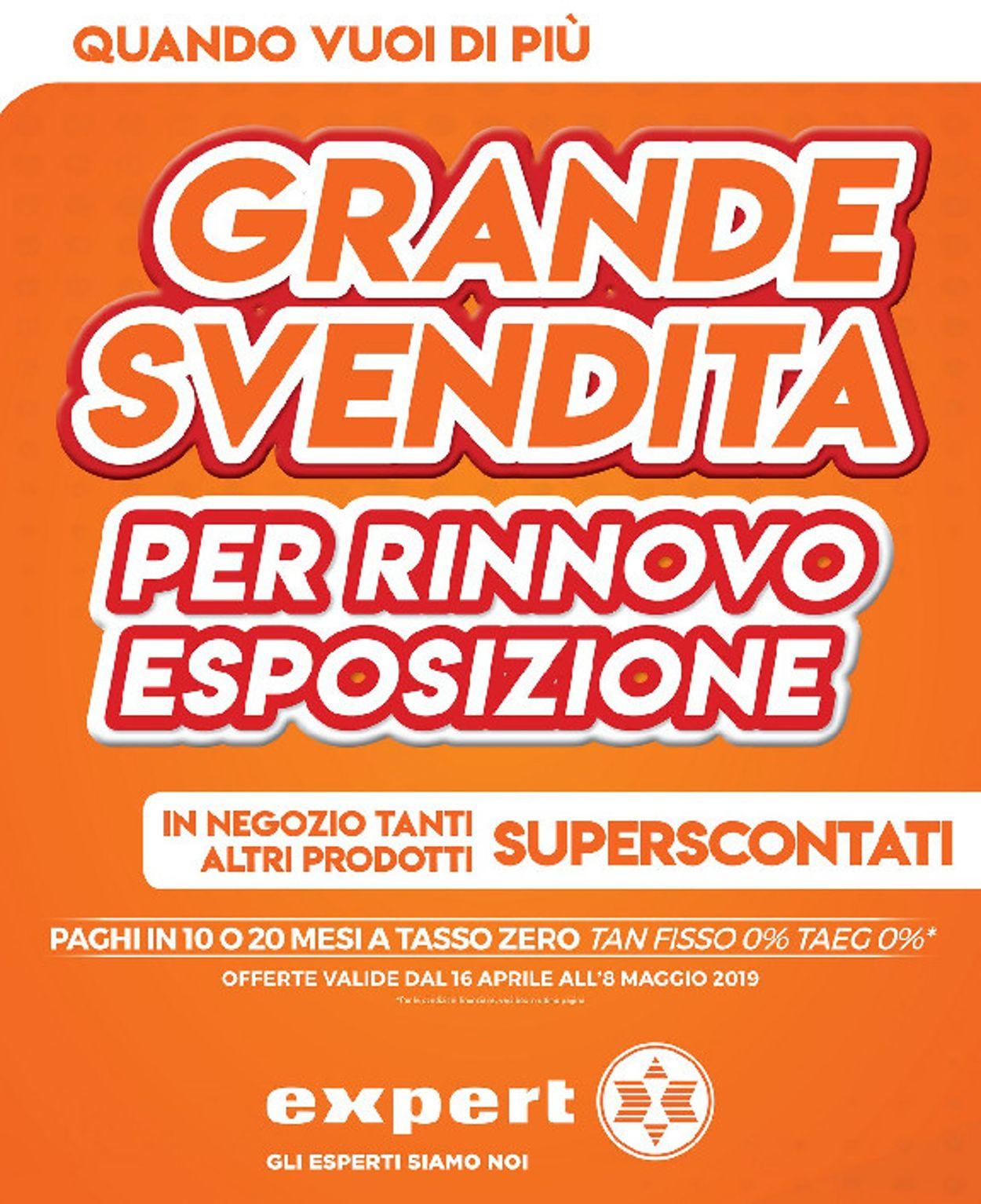 Volantino Expert - Offerte 16/04-08/05/2019