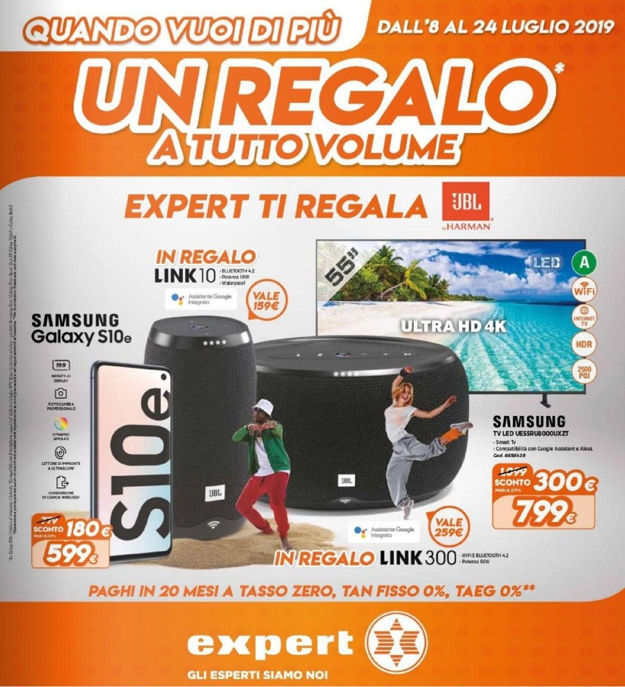 Volantino Expert - Offerte 08/07-24/07/2019