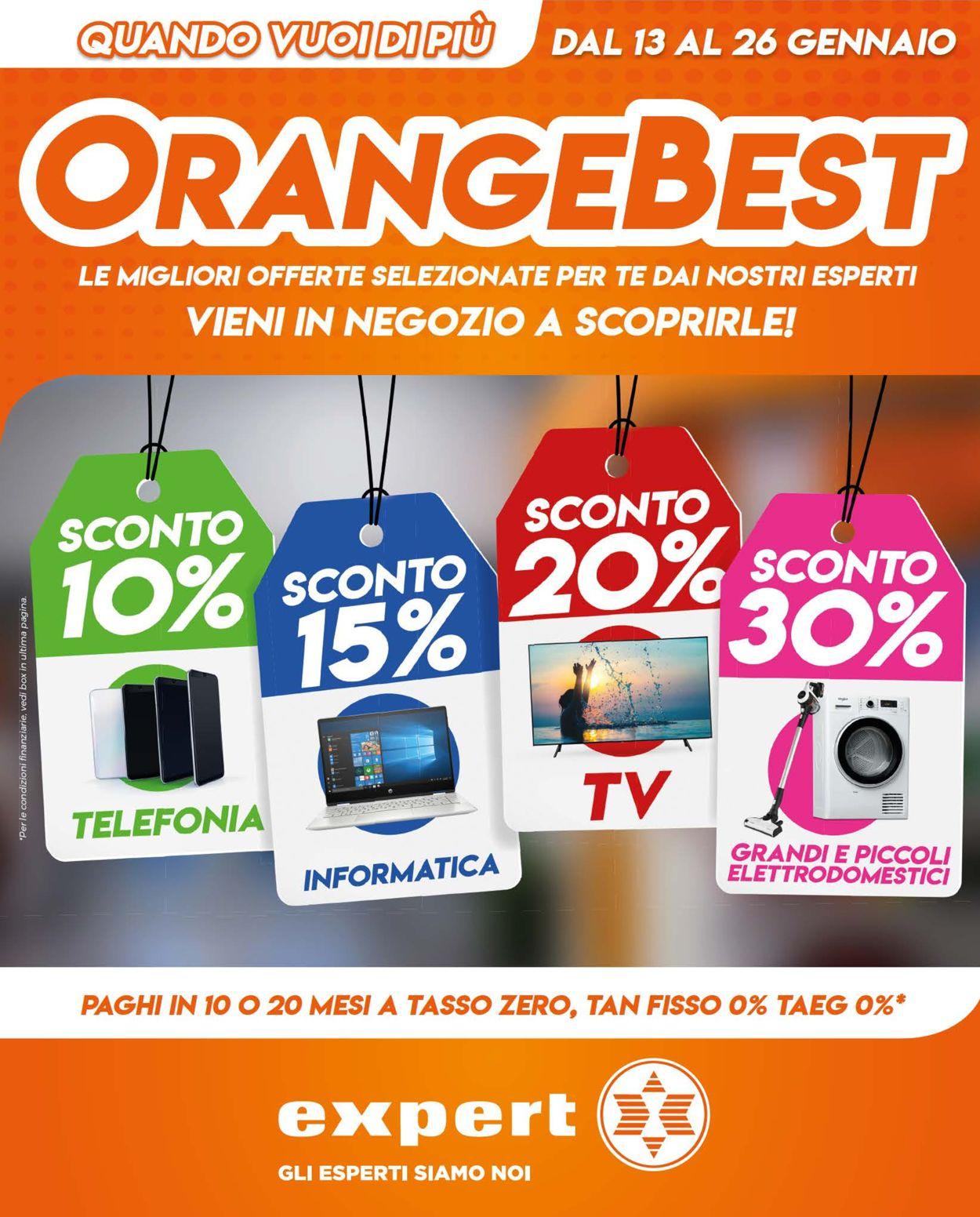 Volantino Expert - Offerte 13/01-26/01/2020