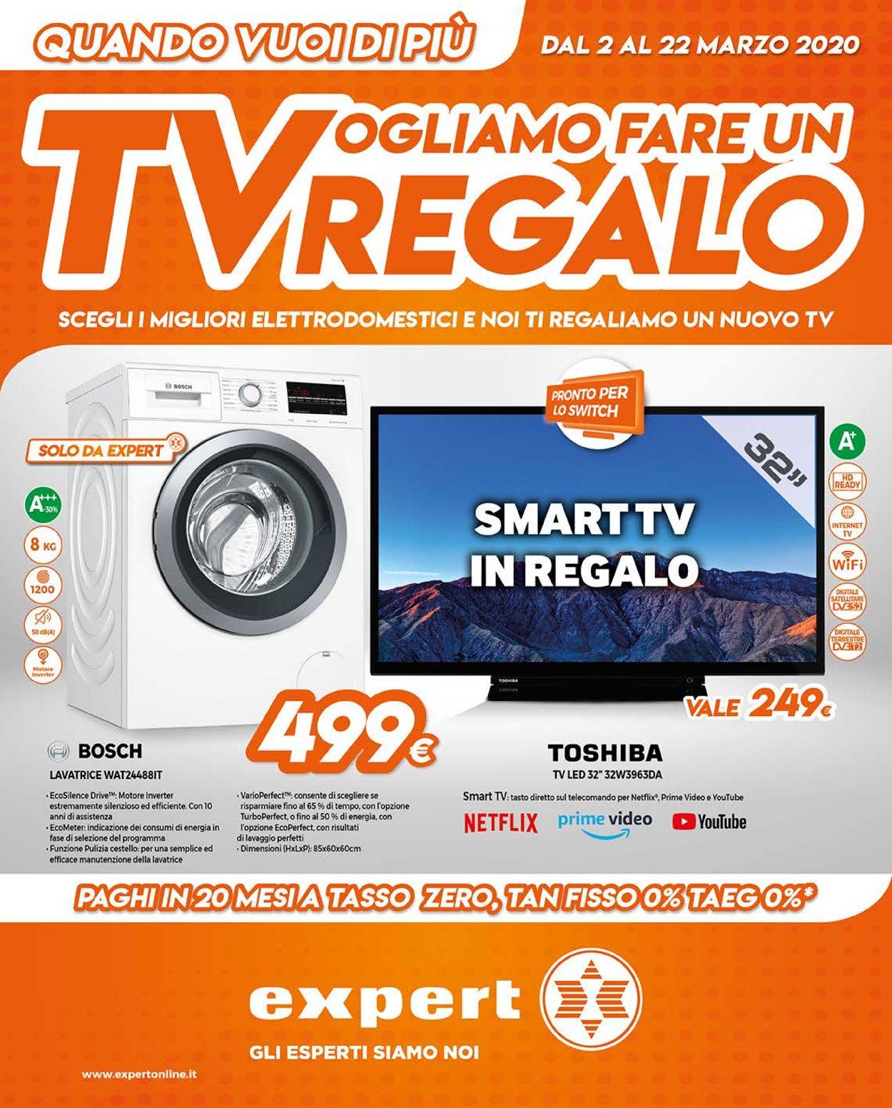 Volantino Expert - Offerte 02/03-22/03/2020