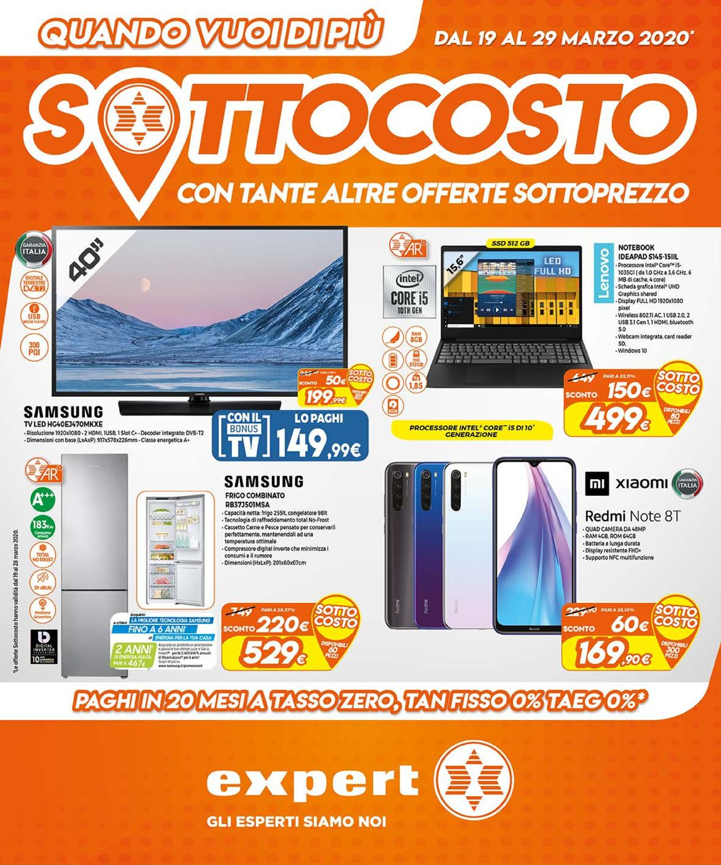 Volantino Expert - Offerte 19/03-29/03/2020