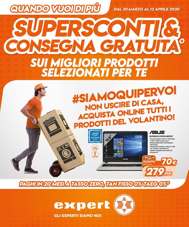 Volantino Expert - Offerte 31/03-12/04/2020