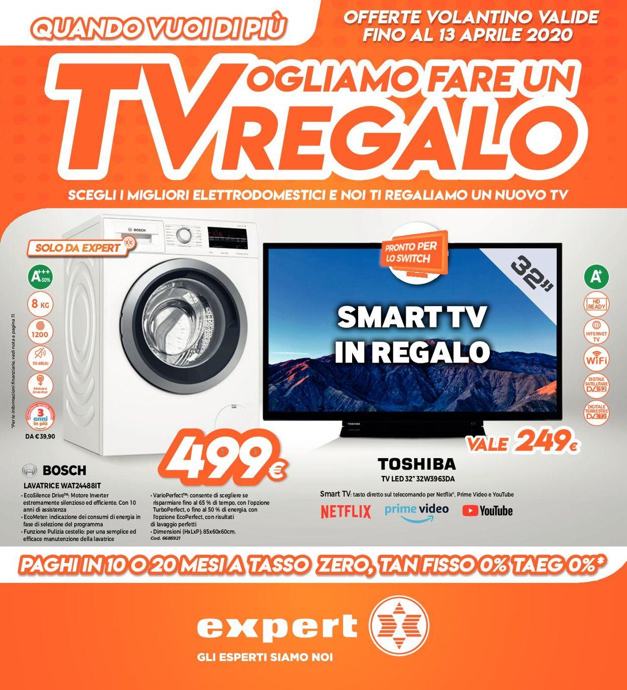 Volantino Expert - Offerte 06/04-13/04/2020
