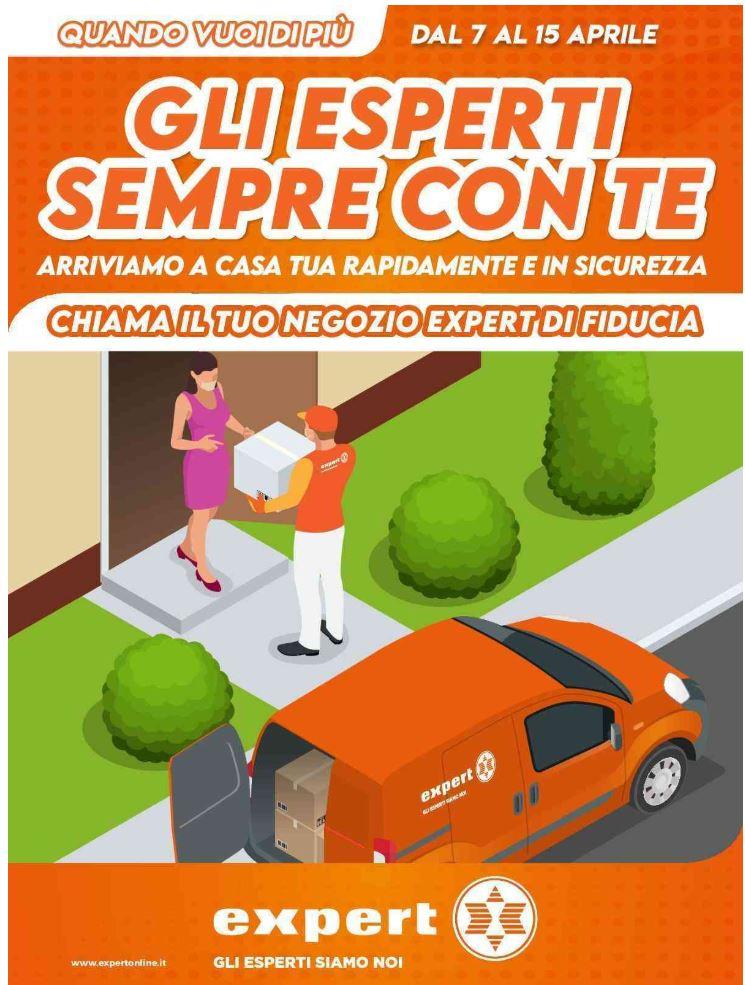 Volantino Expert - Offerte 07/04-15/04/2020