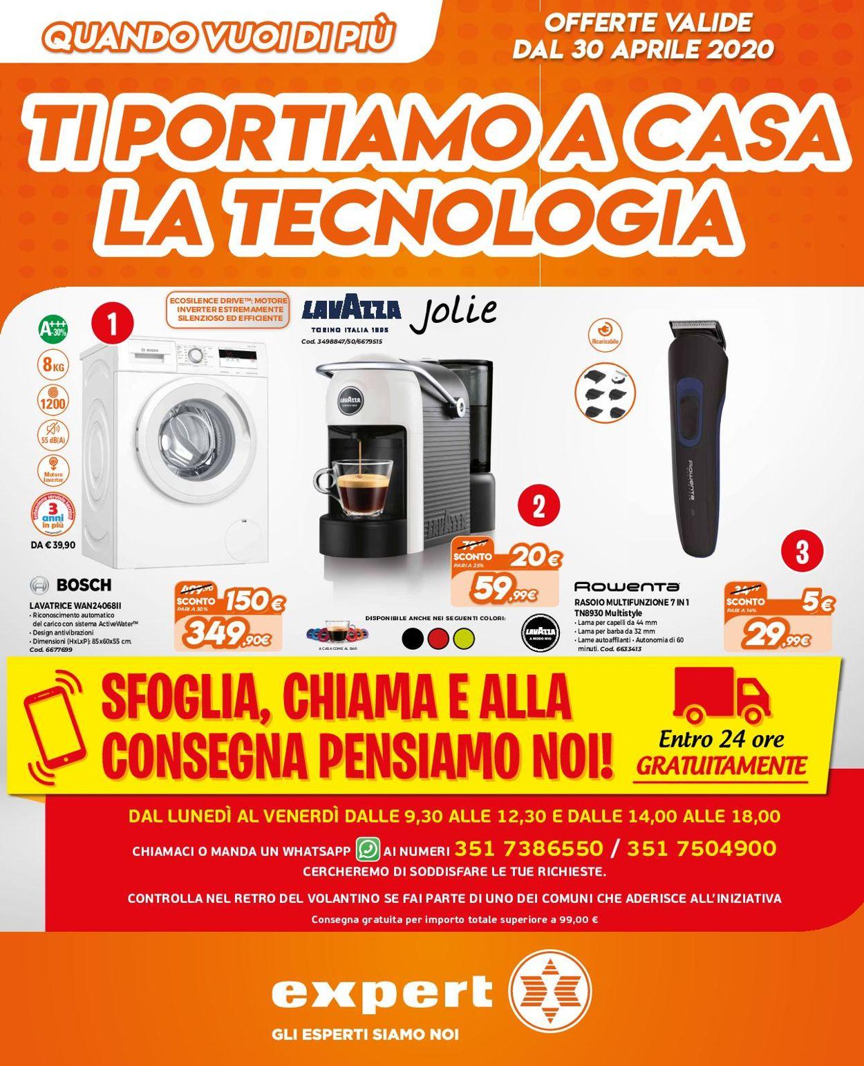 Volantino Expert - Offerte 30/04-12/05/2020