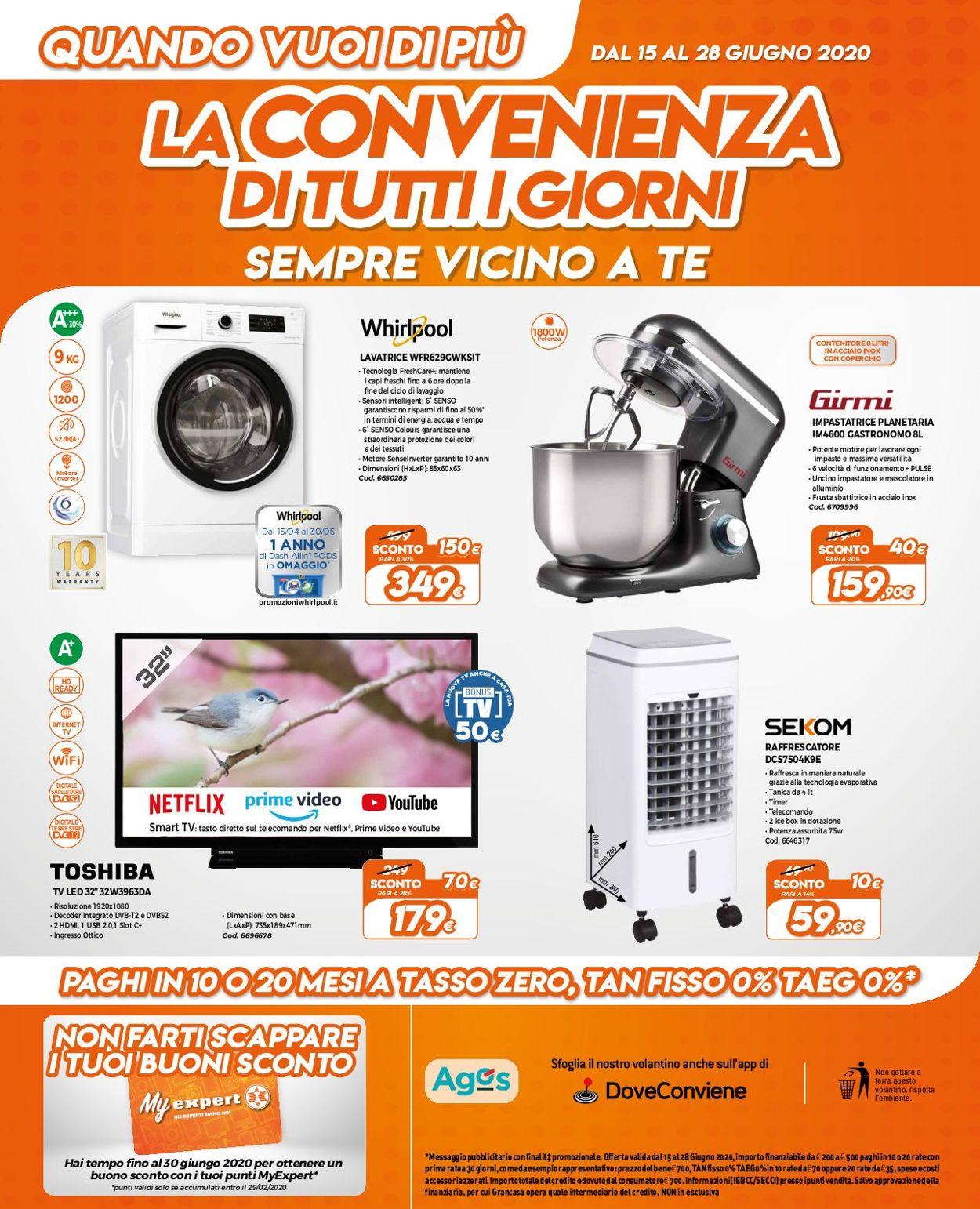 Volantino Expert - Offerte 15/06-28/06/2020